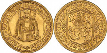 Gold Coins of Czechoslovakia