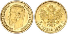 Gold Coins of Imperial Russia