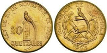 Gold Coins of Guatemala