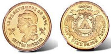 Gold Coins of Honduras