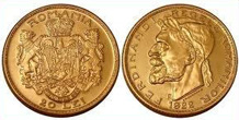Gold Coins of Romania