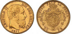 Gold Coins of Belgium