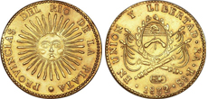 Gold Coins of Argentina