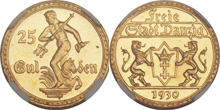 Gold Coins of the Free City of Danzig