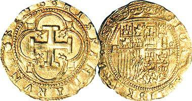 Spanish Gold Escudo & Doubloon