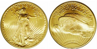 American Gold $20.00 Double Eagle