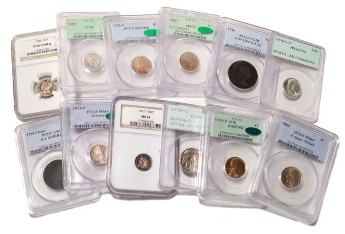 Certified & Rare US Coins