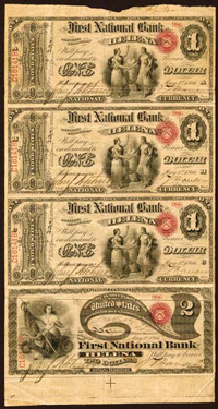 American Currency Legal Tender Notes
