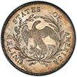 Draped Bust Dollar Small Eagle