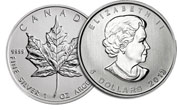 Silver Coins Canadian Silver Maple Leaf