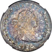1796 Small Date, Small Letters Dollar